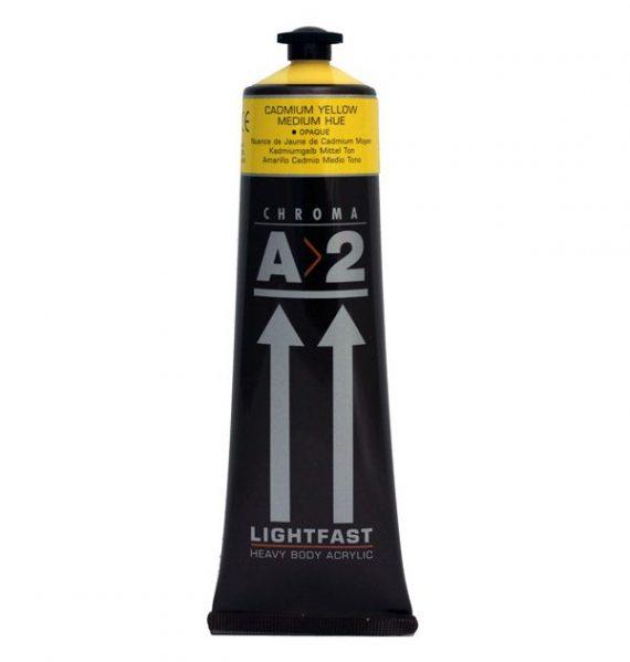 A2Acrylic Cadmium Yellow Medium Hue
