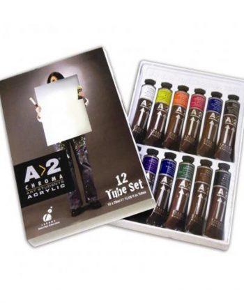A2 Acrylic Set 12
