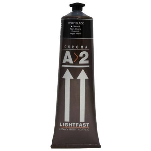 A2 Ivory Black 120ml (A2 Acrylic)