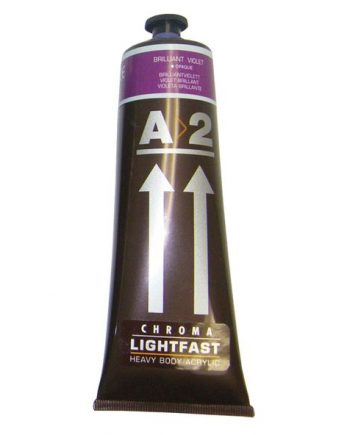 A2 Acrylic Brilliant Violet 120ml