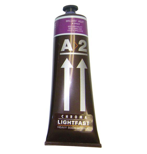 A2 Acrylic Brilliant Violet 120ml