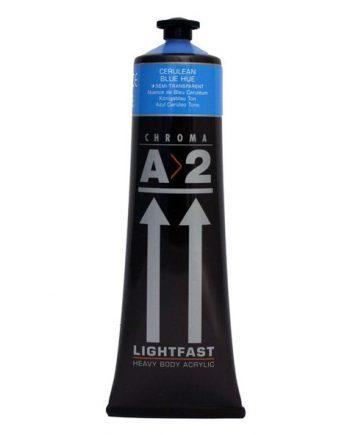 120ml A2 Acrylic Cerulean Blue Hue