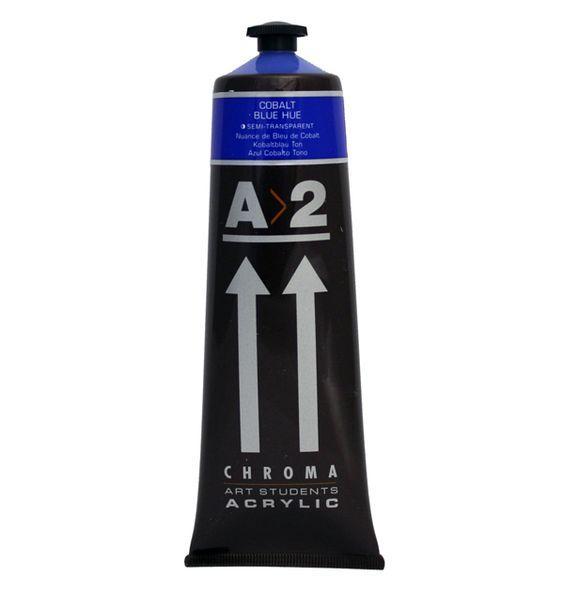 A2 Acrylic Cobalt Blue Hue 120ml