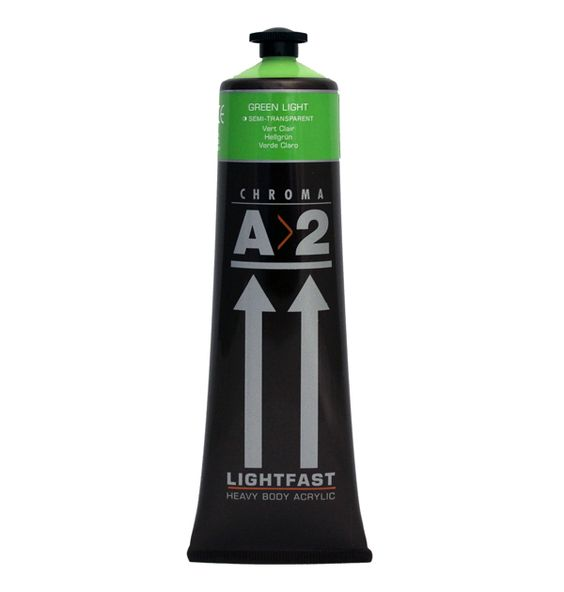 120ml A2 Acrylic Green Light