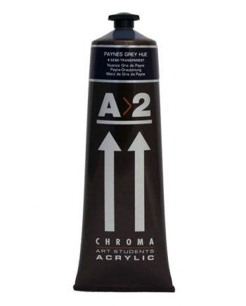 A2 Acrylic Paynes Grey Hue 120ml