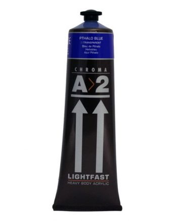 A2 Acrylic Pthalo Blue 120ml