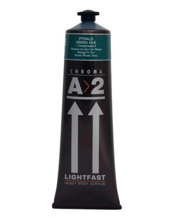 A2 Acrylic Pthalo Green Hue 120ml