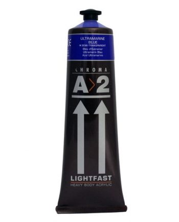 120ml A2 Acrylic Ultramarine Blue