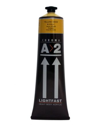A2 Acrylic Yellow Ochre 120ml