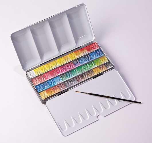 Sennelier Water Colour Set