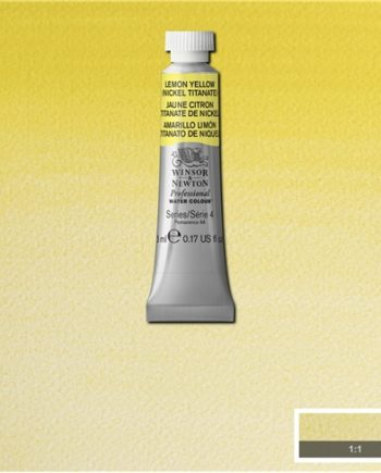 Winsor and Newton Water Colour Lemon Yellow