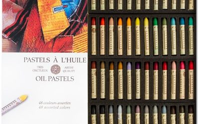 Sennelier Oil Pastels… Like drawing with lipstick!