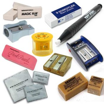 Sharpeners and Erasers