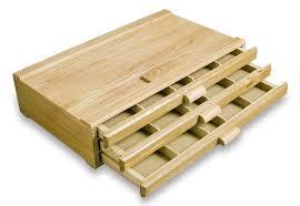 wooden pastel box image
