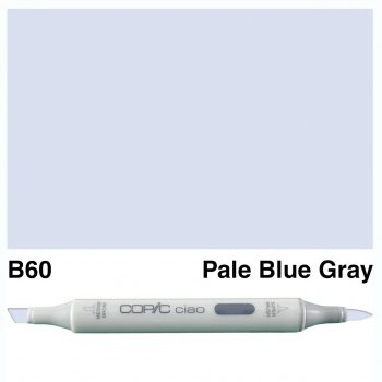 Copic Ciao B60-Pale Blue Gray