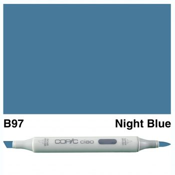 Copic Ciao B97-Night Blue