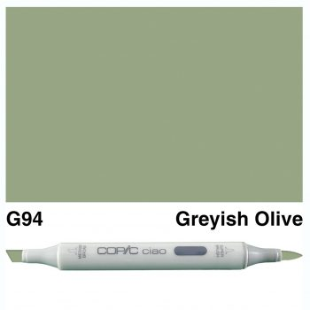 Copic Ciao G94-Grayish Olive