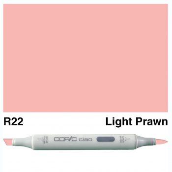 Copic Ciao R22-Light Prawn