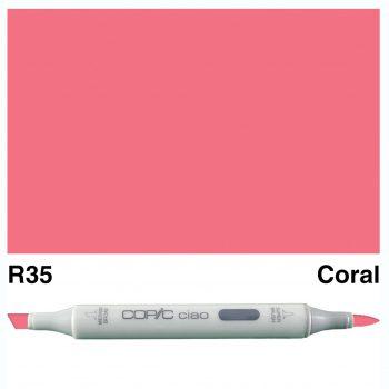 Copic Ciao R35-Coral