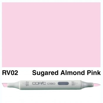 Copic Ciao RV02-Sugared Almond Pink