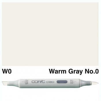 Copic Ciao W0-Warm Gray No.0