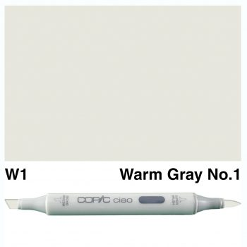 Copic Ciao W1-Warm Gray No.1