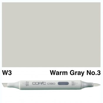 Copic Ciao W3-Warm Gray No.3