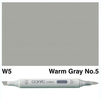 Copic Ciao W5-Warm Gray No.5