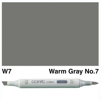 Copic Ciao W7-Warm Gray No.7