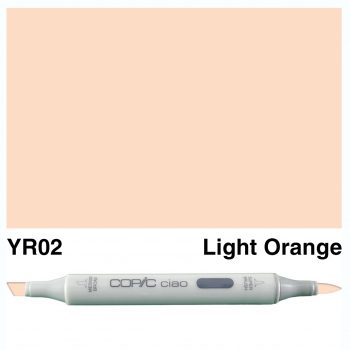 Copic Ciao YR02-Light Orange