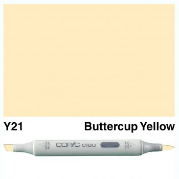 Copic Ciao Y21-Buttercup Yellow