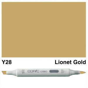Copic Ciao Y28-Lionet Gold