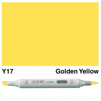 Copic Ciao Y17-Golden Yellow