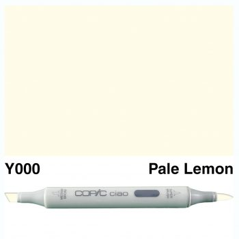 Copic Ciao Y000-Pale Lemon