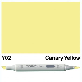 Copic Ciao Y02-Canary Yellow