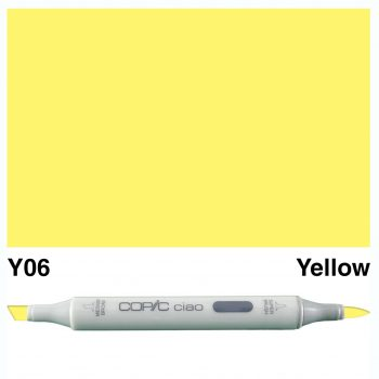 Copic Ciao Y06-Yellow