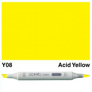 Copic Ciao Y08-Acid Yellow