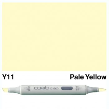 Copic Ciao Y11-Pale Yellow