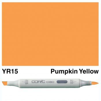Copic Ciao YR15-Pumpkin Yellow