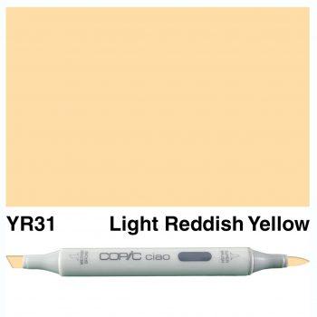 Copic Ciao YR31-Light Reddish Yellow