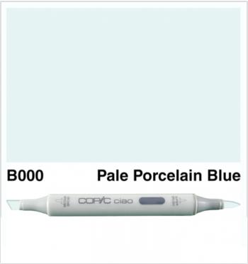 Copic Ciao B000-Pale Porcelain Blue