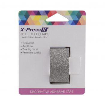 0033305_x-press-it-glitter-deco-tape-25mm-x-10m-black