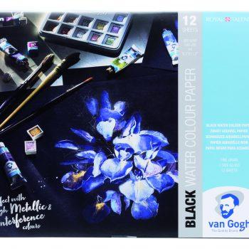 Van Gogh Black Watercolour Paper